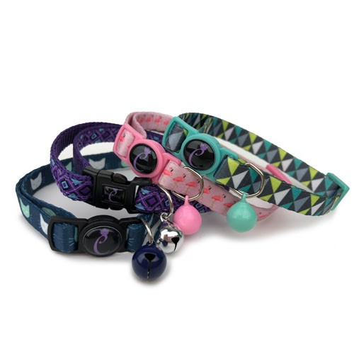 Cattitude Patterned Collars