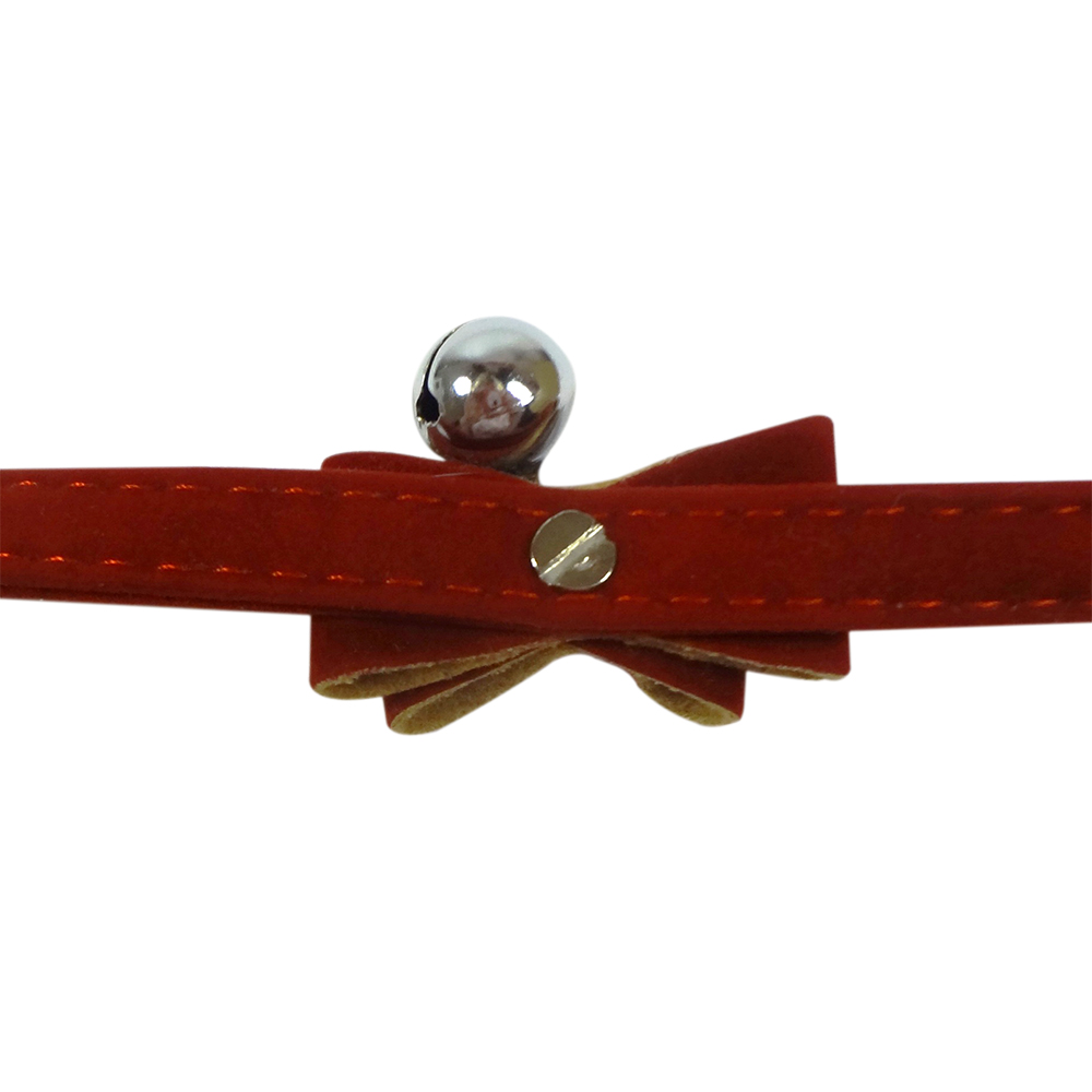 suede bow collar 3