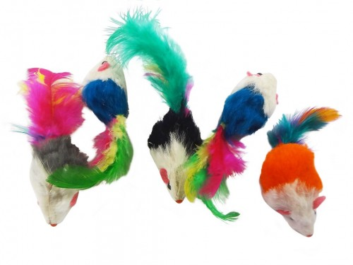 cat toy feather mice